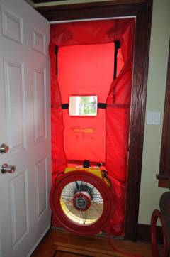 Retrotec Blower door